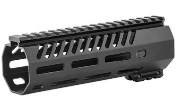"Mission First Tactical Tekko, Free Floating MLOK System, Fits AR15 Carbine 7"", Metal, Black Finish TMARFF7MRS, UPC :814002020863"
