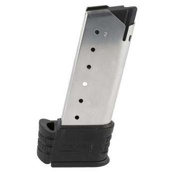 Springfield Magazine, 45 ACP, 7Rd, Fits Springfield XDS,  with Sleeve for Backstaps 1  2, Stainless XDS50071, UPC :706397892883