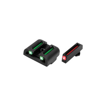 Truglo Brite-Site Fiber Optic Sight, Fits Low Glock 9/40SW/357Sig TG131G1, UPC :788130080733