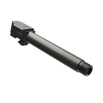 SilencerCo Threaded Barrel, 9MM, For Glock 17L Longslide, Black, 1/2x28 TPI AC861, UPC :817272012033