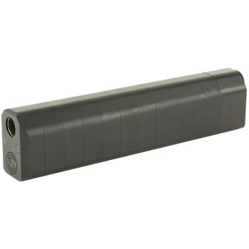 SilencerCo Salvo, 12 Gauge, Shotgun Suppressor, Aluminum and Stainless Steel, Hard Coat Anodized Finish SU823, UPC :817272011753