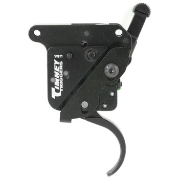 Timney Triggers Trigger, 1.5-4LBS Pull Weight, Fits Remington 700 With Safety, Adjustable, Thin Profile, Black Finish 510-T, UPC : 081950510993