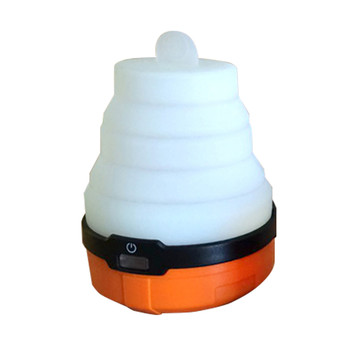 UST - Ultimate Survival Technologies Spright Lantern, 3 Modes: High (100 Lumens), Low (50 Lumens), and Nightlight (10 Lumens), 3AA Batteries (Not Included), Orange 20-LNT0006-08, UPC :811747024583