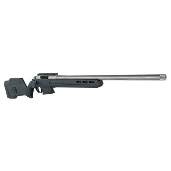 "Seekins Precision HAVAK, Bolt Action Rifle, 6.5 CREEDMOOR, 24"" 5R Stainless Match Grade Fluted Barrel, Diamond-like Carbon Finish, Magpul 700 Stock, 4Rd, Timney Trigger, 20MOA Picatinny Rail, Detachable Magazine, Integrated Recoil Lug, Removable Bolt"