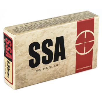 Silver State Armory 556NATO, 77 Grain, Hollow Point, Boat Tail, 20 Round Box 75010, UPC : 054041750103