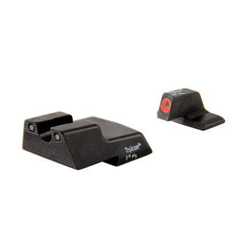 Trijicon HD Night Sights, Fits HK .45C, .45C Tactical, P30, P30L, and VP9 models, Orange Front Outline, Front/Rear HK110O, UPC :719307210653
