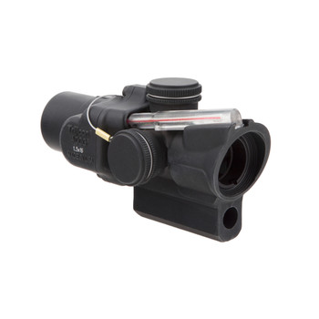 Trijicon ACOG, Compact, 1.5X16, Dual Illuminated Red Ring  2 MOA Center Dot Reticle With M16 Carry Handle Base and Mounting Screw TA44-C-400141, UPC :719307309463