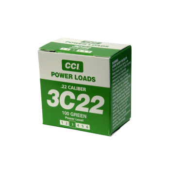 D.T. Systems .22 Caliber Blank Power Loads-Green 40-80 Yards, UPC :712548881163