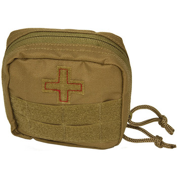 Red Rock Gear Soldier Individual First Aid Kit Coyote, UPC :846637006783