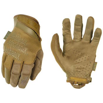Mechanix Wear Specialty Dexterity Covert Glove Coyote Large, UPC :781513635193