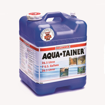 Reliance Aqua-Tainer Water Container 7 Gallon, UPC : 060823941003