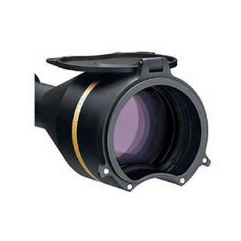 Leupold Alumina Flip-Up Rifle Scope Cover Kit Front and Rear VX-L 56mm Objective Matte, UPC : 030317628253