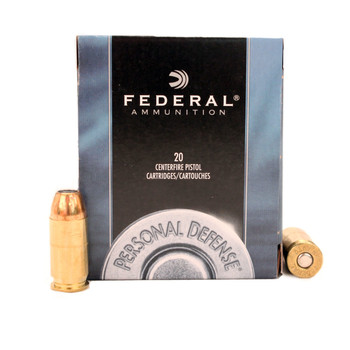 PERSONAL DEF 45 AUTO 230GR JHP 20RD/BX, UPC : 029465093143