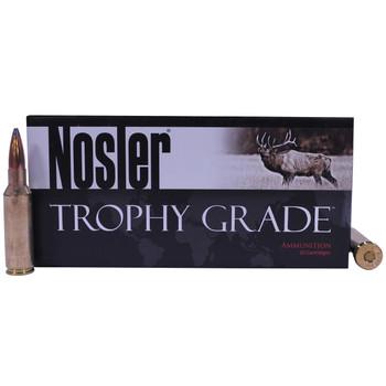 Nosler Trophy Grade Ammunition 300 Remington Short Action Ultra Magnum 165 Grain Partition Spitzer Box of 20, UPC : 054041600613