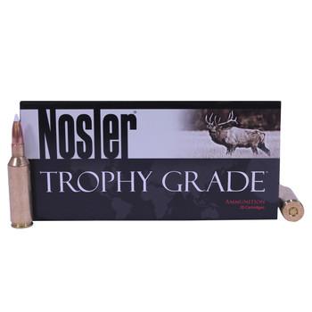 Nosler Trophy Grade Ammunition 7mm Remington Short Action Ultra Magnum 160 Grain AccuBond Box of 20, UPC : 054041600453
