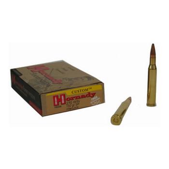 Hornady Custom Ammunition 270 Winchester 150 Grain InterLock Spire Point Box of 20, UPC : 090255380583