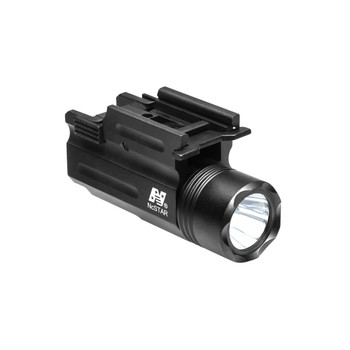 Compact Flashlight/Laser w/QR Mt, UPC :814108015183