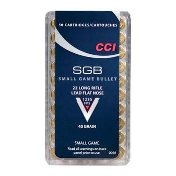 SMALL GAME BULLET 22LR 40GR LFN 50RD/BX, UPC : 076683000583