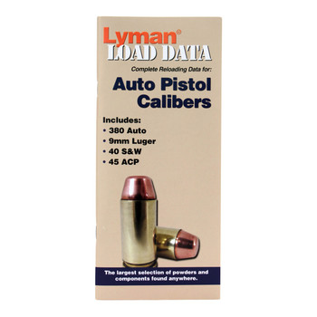 Lyman Load Data Book Semi-Automatic Pistol, UPC : 011516900043