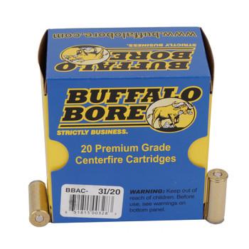 Buffalo Bore Ammunition 45 Colt (Long Colt) 225 Grain Hard Cast Lead Wadcutter Anti-Personnel Box of 20, UPC :651815003283