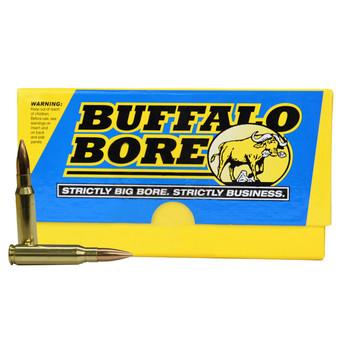 Buffalo Bore Sniper Ammunition 308 Winchester 175 Grain Hollow Point Boat Tail Box of 20, UPC :651815308173