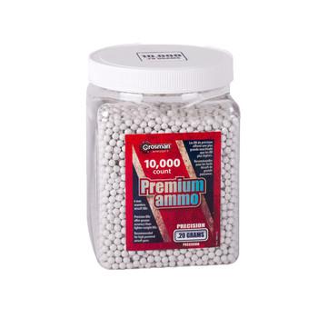 AS 10K ct 6mm White .20 gram BBs, UPC : 028478138773