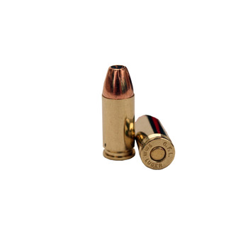 Fiocchi Shooting Dynamics Ammunition 9mm Luger 124 Grain Jacketed Hollow Point Box of 50, UPC :762344706443