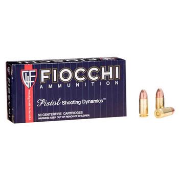 Fiocchi Shooting Dynamics Ammunition 9mm Luger 147 Grain Full Metal Jacket Box of 50, UPC :762344026923