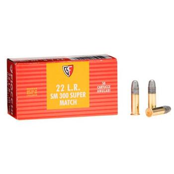 22LR 40gr Pistol Super Match /50, UPC :762344042053
