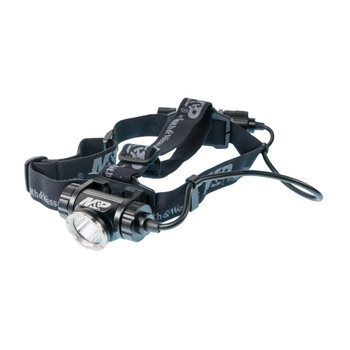 Smith  Wesson Delta Force HL-20 Headlamp LED with Rechargeable Li-Ion Battery Aluminum Black, UPC :661120001683