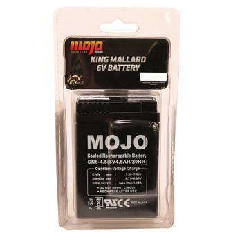 MOJO KING MALLARD Battery (6 volt), UPC :816740003863