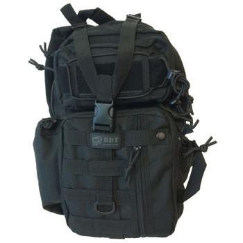 ASSASSIN SHOULDER SLING BAG - BLACK, UPC :616086525933