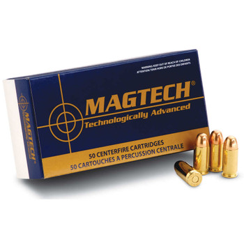 Magtech Sport Ammunition 38 Special 158 Grain Lead Semi-Wadcutter Box of 50, UPC :754908161713
