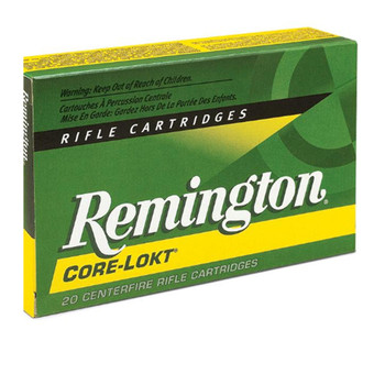Remington Express Ammunition 300 Winchester Short Magnum (WSM) 150 Grain Core-Lokt Pointed Soft Point Box of 20, UPC : 047700385303