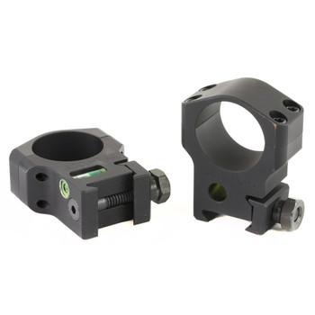 Accu-Tac ScoScope Rings, 30mm High (Clears 56mm Lens), Black Finish HSR-300, UPC :858520006084
