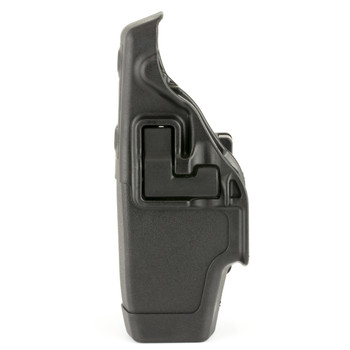 BLACKHAWK! Level 2 Duty SERPA Belt Holster, Fits Taser X-26, Left Hand, Matte Finish, Black 44H015BK-L, UPC :648018117244