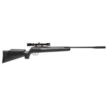 Crosman Nitro Venom Dusk, Air Rifle, .177 Pellet, Break Barrel, Black Finish, Synthetic Stock, Two-Stage Adjustable Trigger, with 4x32 Scope, Single Shot, 1200 Feet per Second CD1K77NP, UPC : 028478134614