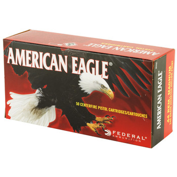 Federal American Eagle, 44MAG, 240 Grain, Jacketed Hollow Point, 50 Round Box AE44A, UPC : 029465084974