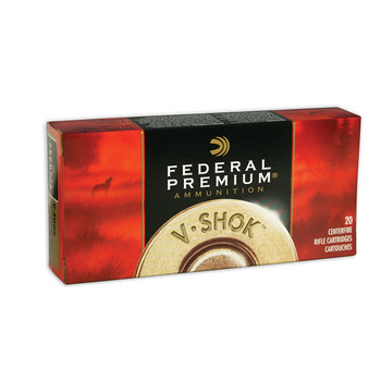 Federal Vital-Shok, 30-06, 150 Grain, Sierra GameKing Boat Tail Soft Point, 20 Round Box P3006G, UPC : 029465084714