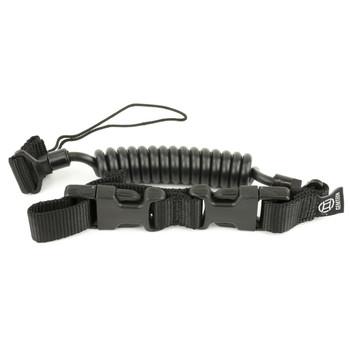 Gemtech Tactical Pistol Lanyard, Black 12253, UPC :609728889784
