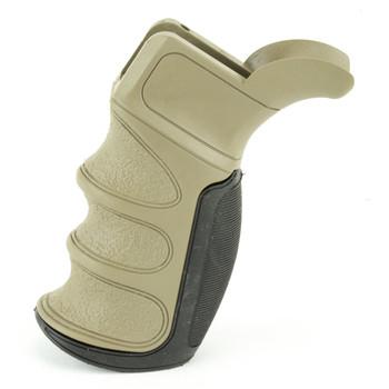 Advanced Technology Pistol Grip, AR-15 X1 Recoil Reducing, Flat Dark Earth A.5.20.2347, UPC :758152104564