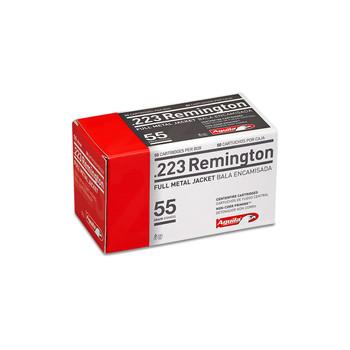 Aguila Ammunition Rifle, 223 Rem, 55 Grain, Full Metal Jacket, 50 Round Box 1E223110, UPC :640420003054