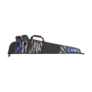 "Allen Victory Single Scoped Rifle Case, 48"", American Flag Finish, Endura Fabric 587-48, UPC : 026509587484"