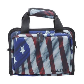 Allen Victory Duplex Double Handgun Case, American FlagFinish, Endura Fabric 7609, UPC : 026509076094