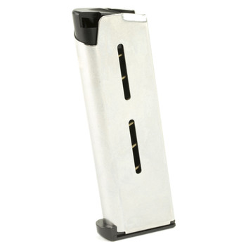 Wilson Combat Officer Magazine, 45ACP, 7Rd, Fits 1911, Stainless 47OXC, UPC :874218002374