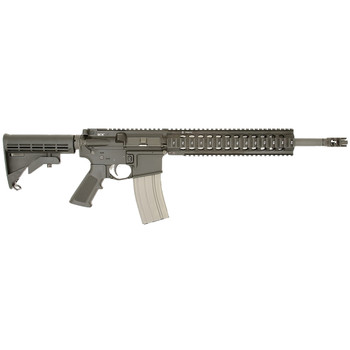 "Bravo Company RECCE-14 Model 0, Semi-automatic, 223 Rem/556NATO, 14.5"" Barrel, 1:7 Twist, Mid-length Gas System, Black Finish, 30Rd, BCM Mod 4 Charging Handle, BCM Mod 1 Compensator, BCM Mod 3 Pistol Grip, BCM Mod 0 Stock, BCM PNT Trigger BCM780-140,"