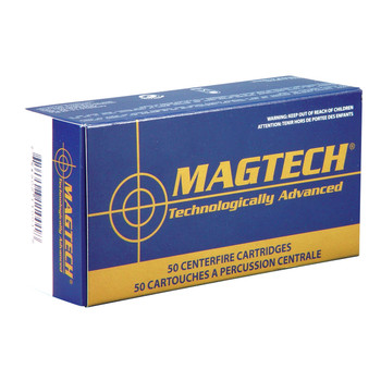 Magtech Sport Shooting, 38 Special, 158 Grain, Lead Round Nose, 50 Round Box 38A, UPC :754908105014