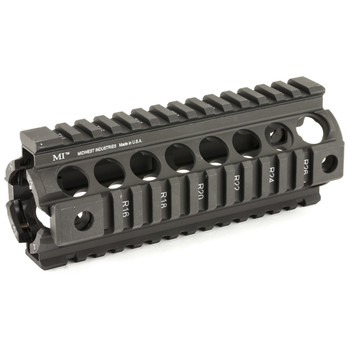 Midwest Industries Forearm, Fits DPMS .308 Sportical, 4-Rail Handguard, Black. Generation 2 MCTAR-17SG2, UPC :816537015604