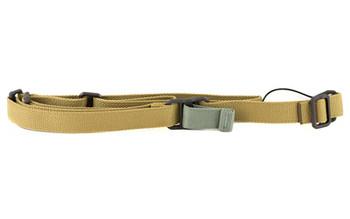 Blue Force Gear Sling, Fits AK, Standard, Molded Acetal Adjuster, Coyote Brown Finish K-SP-0046-CB, UPC :812114022454