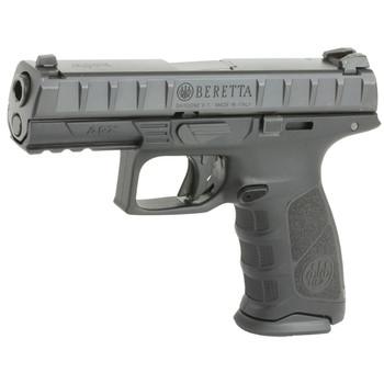 "Beretta APX, Semi-Automatic, Striker Fired, Full Size, 9MM, 4.25"" Barrel, Polymer Frame, Blue Finish, 2 Magazines, 10 Rounds JAXF920, UPC : 082442874234"